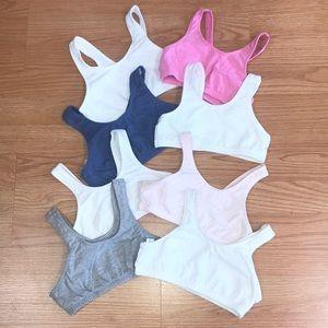Tween Girls bundle of bras